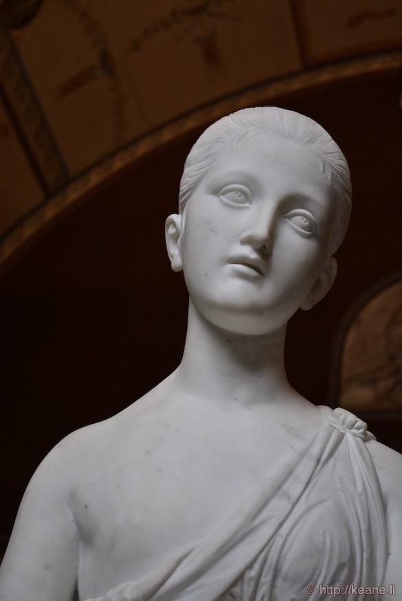 Statue in Thorvaldsens Museum