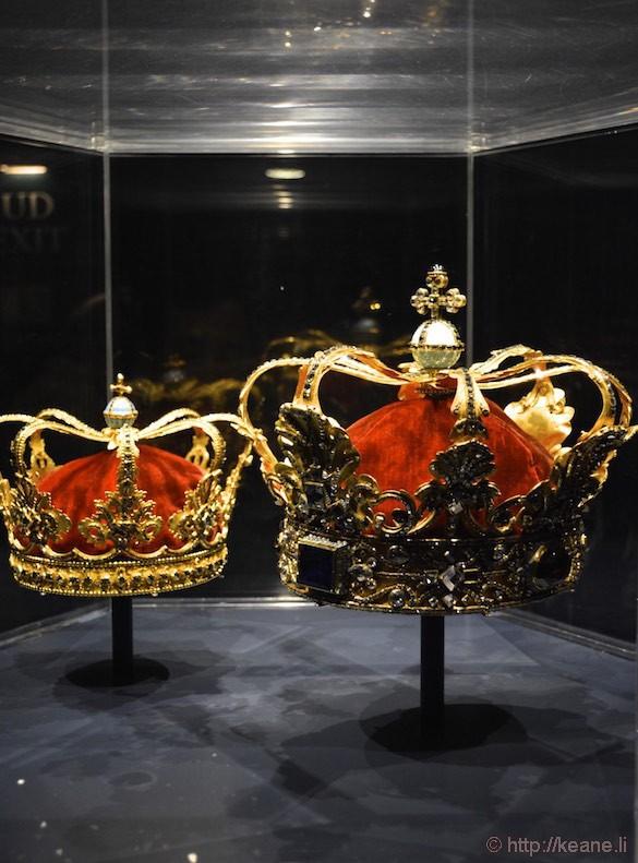 Denmark Rosenborg Castle Crown Jewels