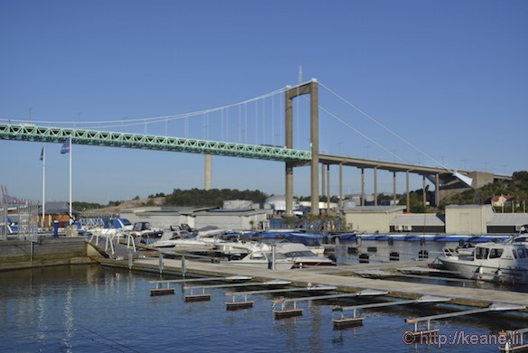 Älvsborg Bridge in Gothenburg