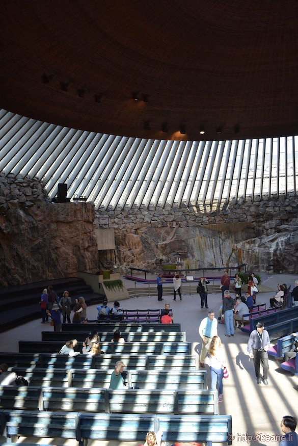 Temppeliaukio Church, the Rock Church in Helsinki