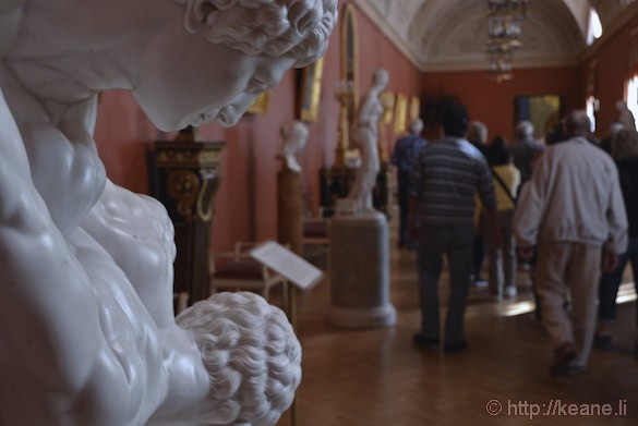 Sculpture Hall in Yusupov Palace