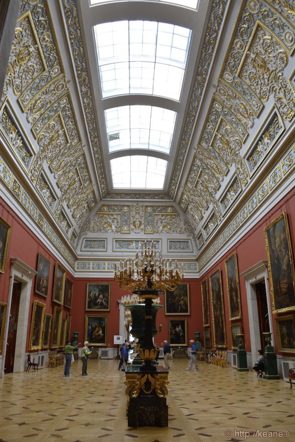 Gallery in the Hermitage