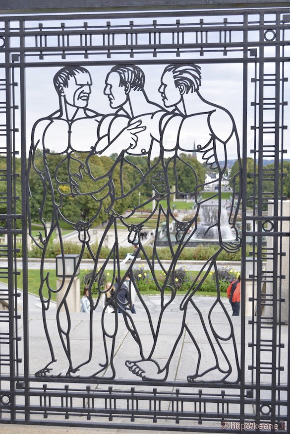 Gustav Vigeland Art in Frogner Park in Oslo