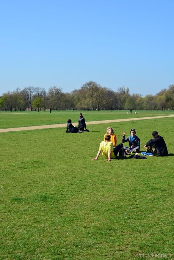 Hyde Park on a Sunny Day