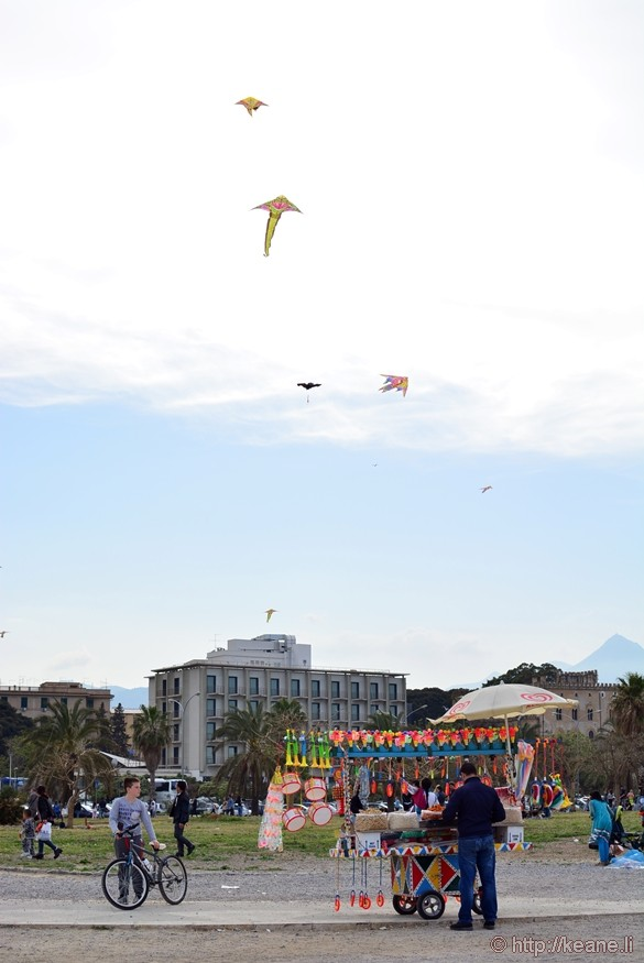 Kites Above Foro italico