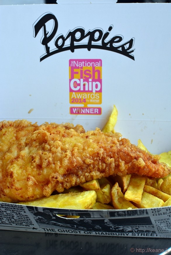 Poppies Fish and Chips in London