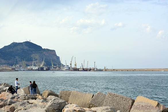 Foro Italico Waterfront Park in Palermo
