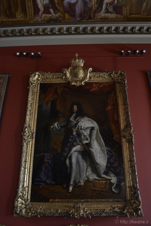 Louvre Museum - Painting of Louis XIV