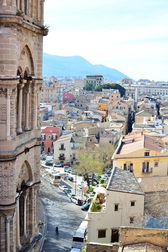 View of Palermo from the Museo Diocesano