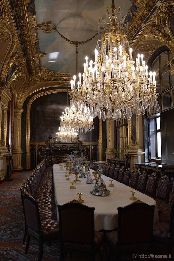 Louvre Museum - Napoleon III Apartments Dining Room