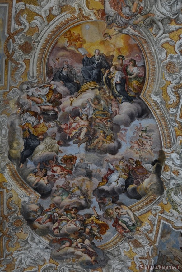 Ceiling Fresco in the Chiesa di San Benedetto