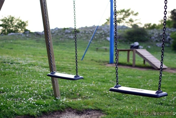 Swing in Park near Monteforte Cilento