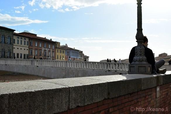 Lungoarno in Pisa