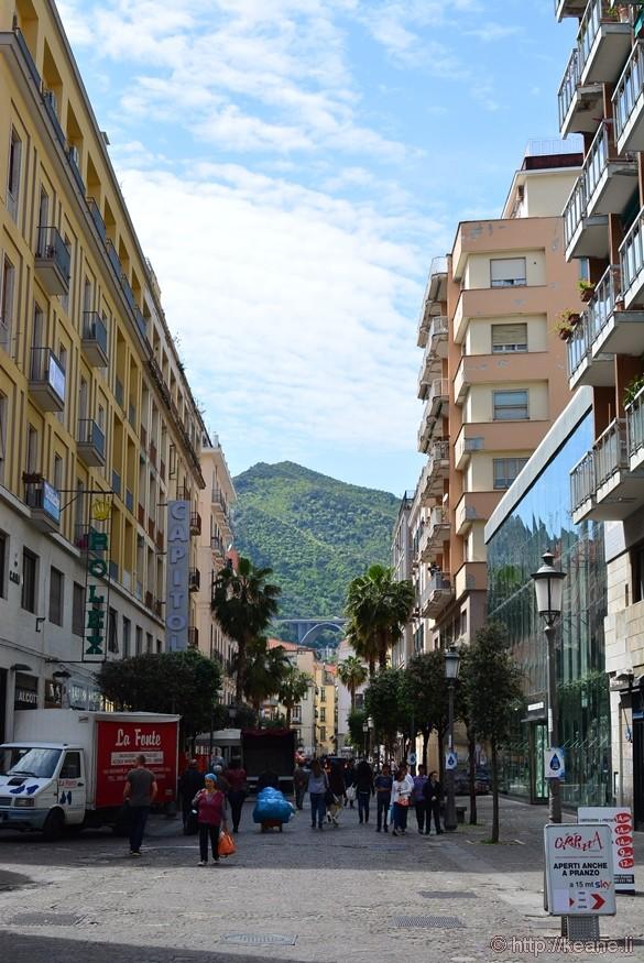 Corso Vittorio Emanuele II in Salerno