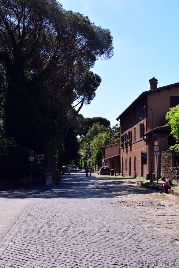Via Appia Antica, the Ancient Appian Way