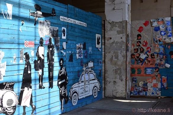 Lucca - Mercato del Carmine Street Art