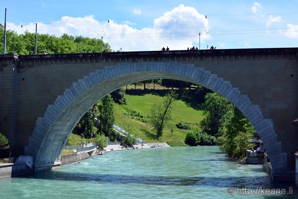 River Aare in Bern