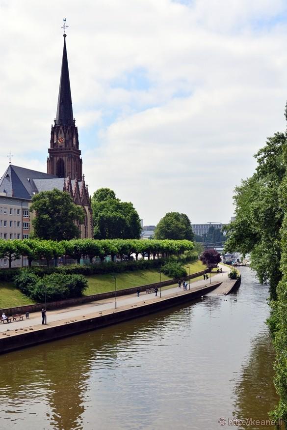Main River in Frankfurt