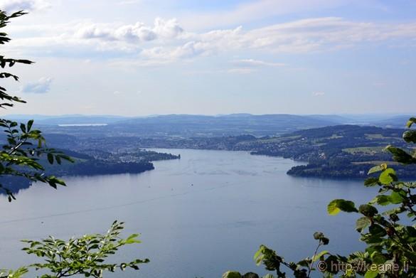 View of Lucerne from Bürgenstock