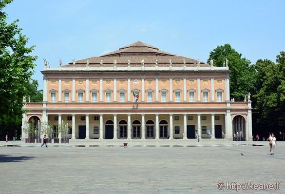 Teatro Municipale in Reggia-Emilia