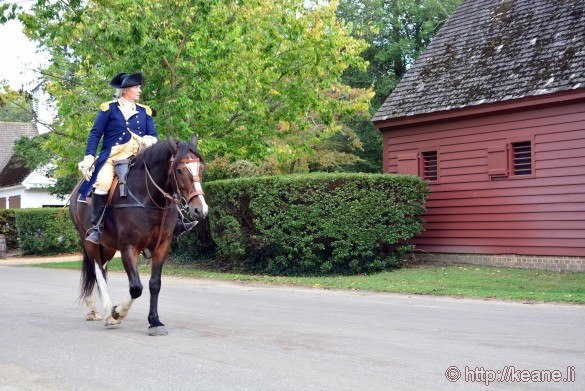 Colonial Williamsburg - George Washington
