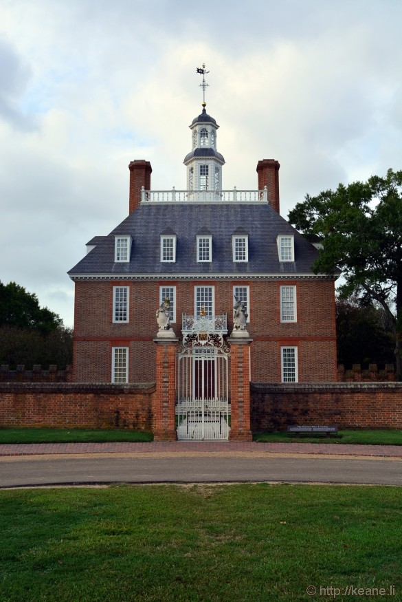 Colonial Williamsburg - Governor's Palace