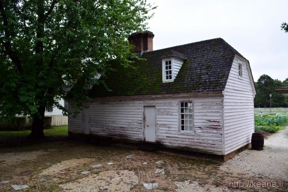 Colonial Williamsburg - Battered Building