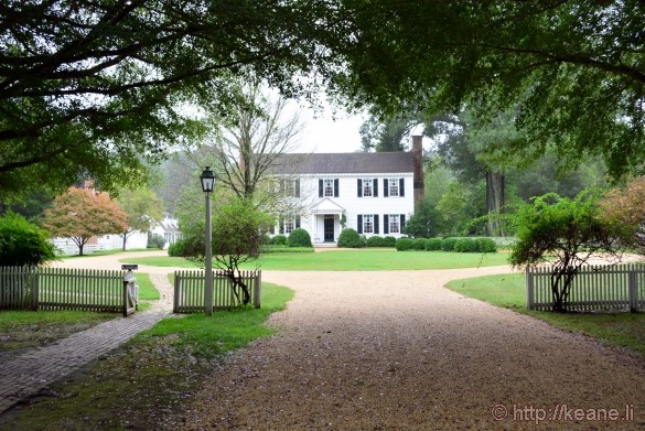 Colonial Williamsburg - Bassett Hall, Home of the Rockefellers