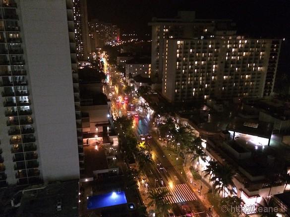 Oahu - Waikiki at Night