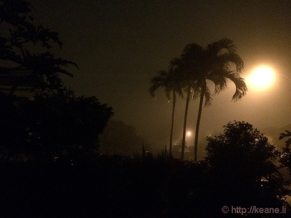 Oahu - Misty Night