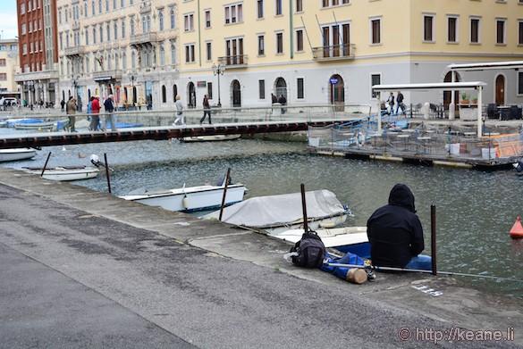 Canale Grande in Trieste