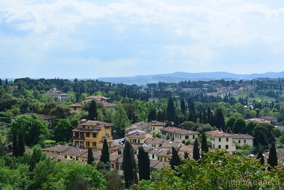 View from the top of the Boboli Gardens