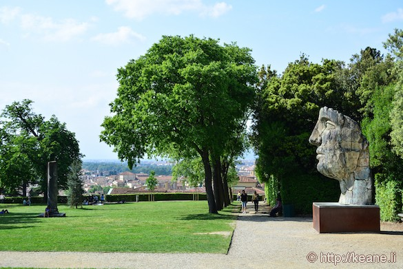 Giardini di Boboli and Mitoraj Sculpture