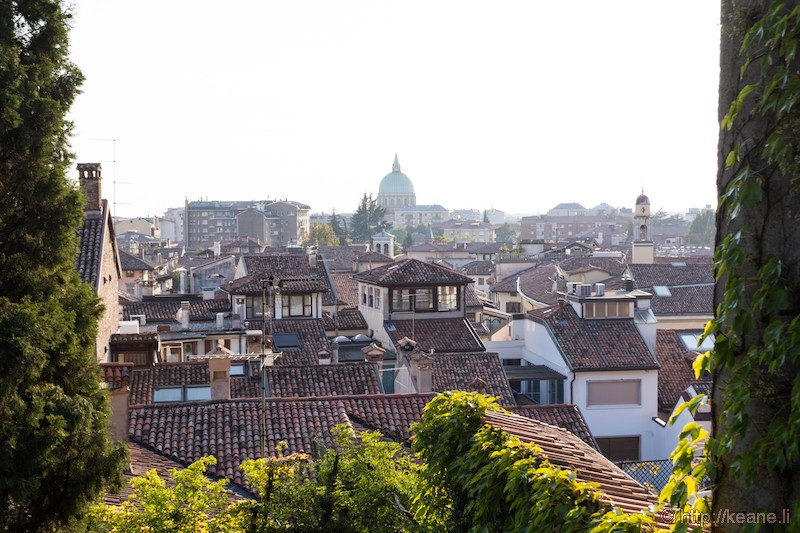 View of the City from the Castello di Udine