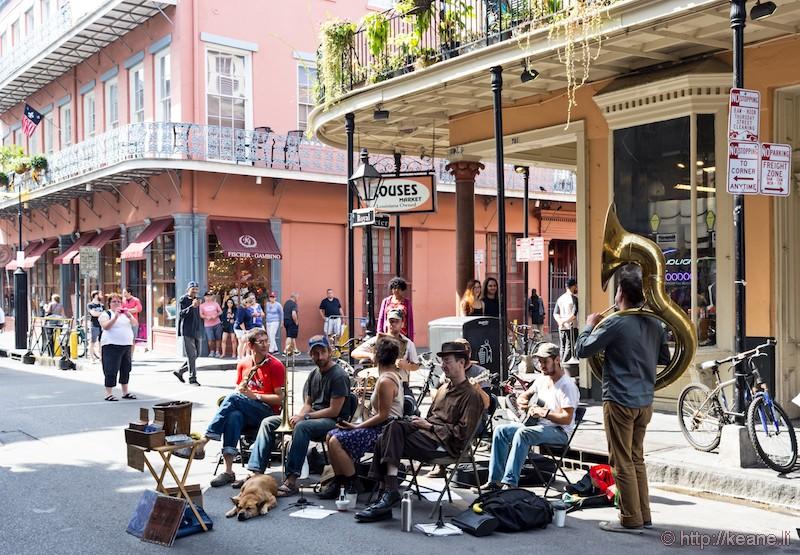 Street Musicians on Royal Street