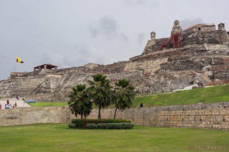 San Felipe de Barajas Castle in Cartagena