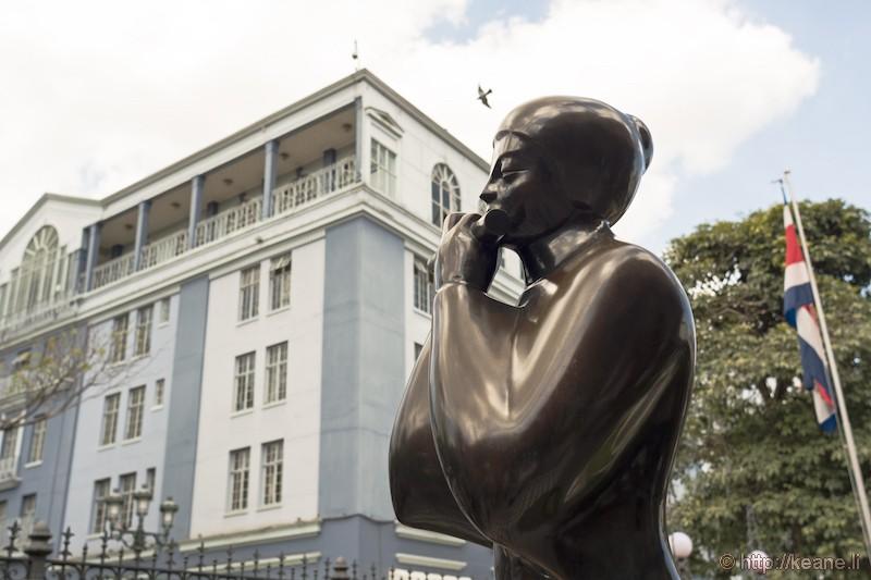 Statue in San José, Costa Rica