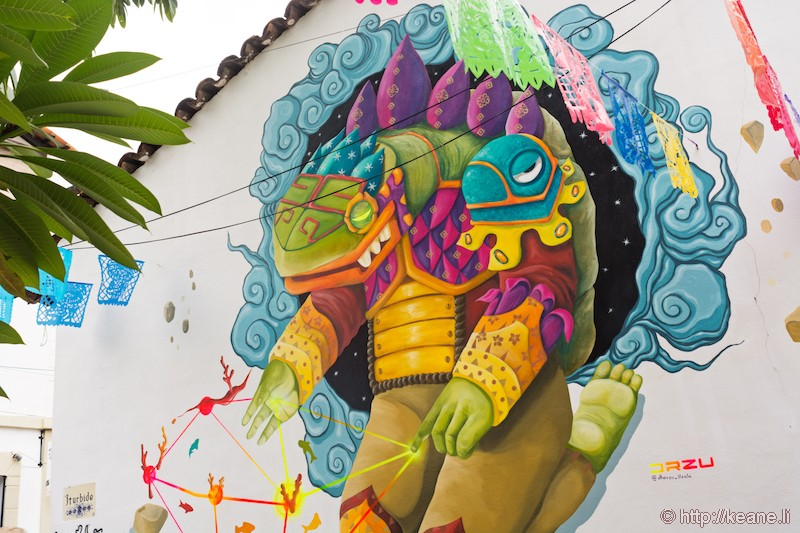 Street Art in Puerto Vallarta, Mexico