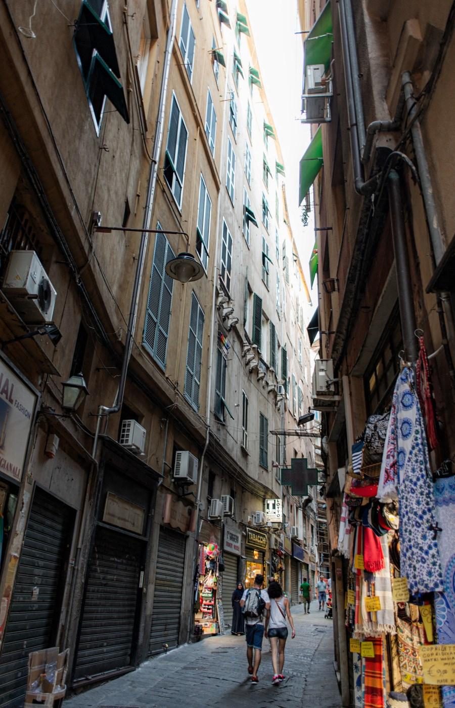 Centro Storico Streets in Genoa