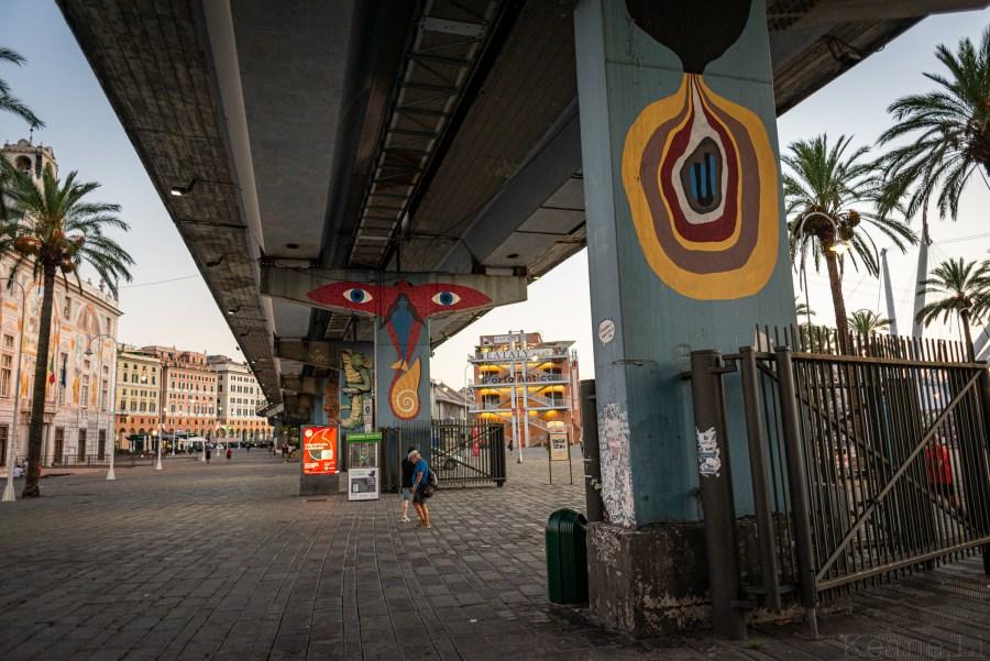 Genoa Waterfront Street Art