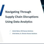 Navigating Through Supply Chain Disruptions Using Data Analytics