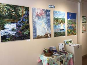 Landscapes in Fiber exhibit