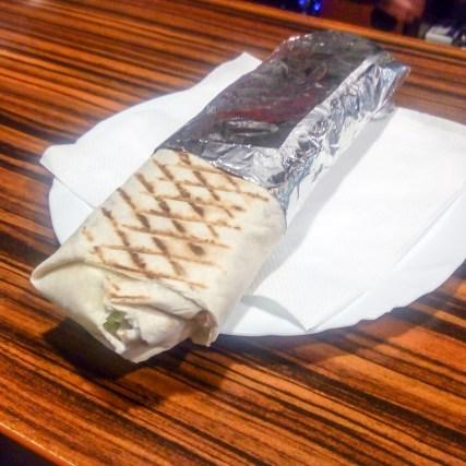Dürüm z chomutovské kebabárny Žižkov