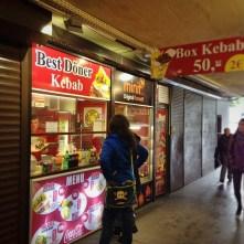 Kebab okénko pod Magistrálou