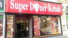 Exteriér - Super Döner Kebab Vinohradská (Praha)