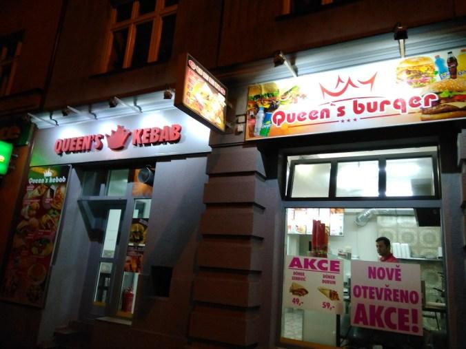 Exteriér - Queen's kebab Vršovice