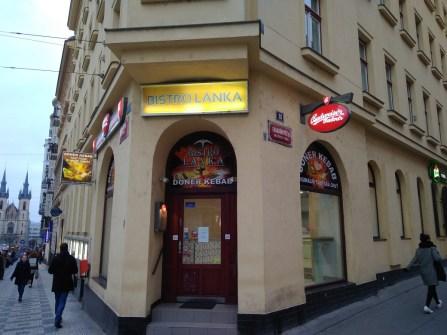 Exteriér - Bistro Lanka, Praha