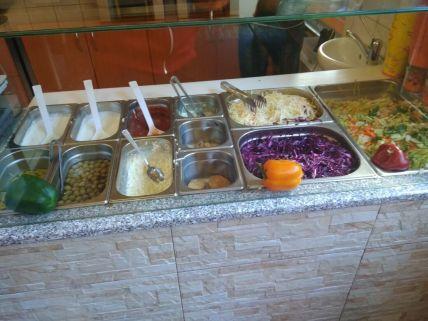 Zálivky a zelenina - Istanbul Kebab, Náchod