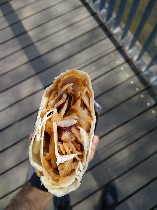 Guli Kebab, Plzeň - Dürüm na skus