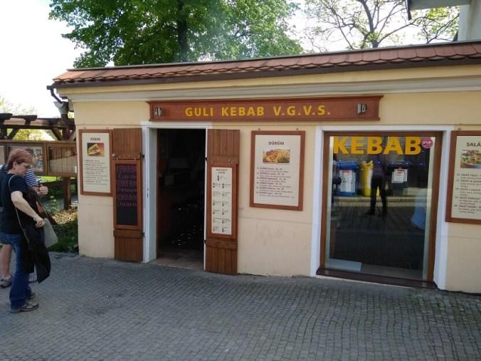 Guli Kebab, Plzeň - Exteriér